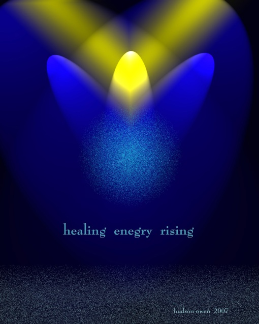 Healing Energy Rising 8x10 JPG
